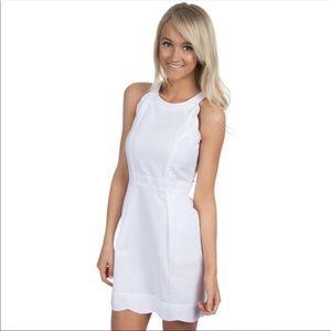 Lauren James Landry Dress White NWT